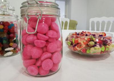 Bar à bonbons mariage