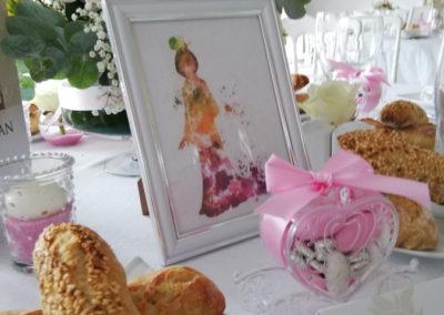 décoration de table mariage Disney