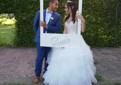 Cadre Photo mariage par Mademoiselle Loyal