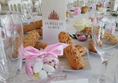 Table mariage thème Disney