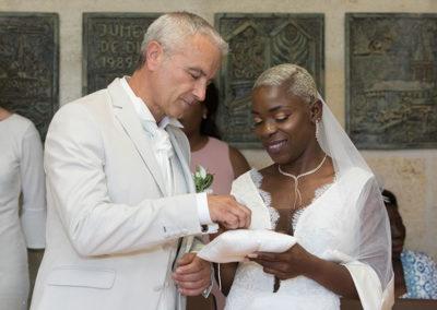 échange des alliances mariage en mairie