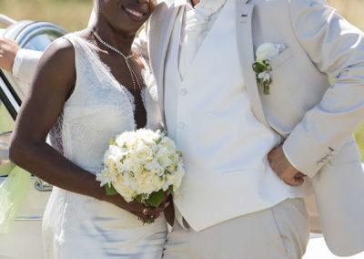 mariés en blanc