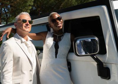 mariés limousine