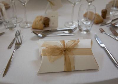 décoration de table cadeaux invités
