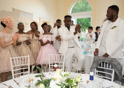 Danse des invités mariage