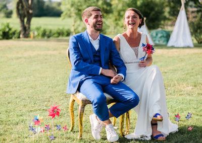 Rires et émotions pour une cérémonie laïque