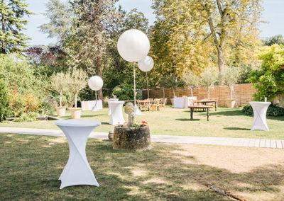 Ambiance cocktail mariage par Mademoiselel Loyal