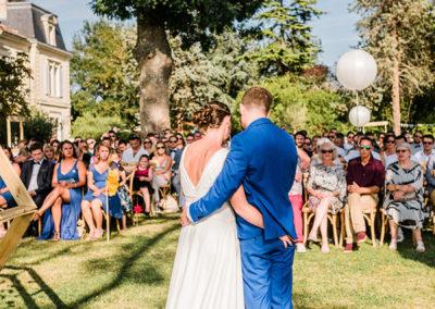 mariés lors d'une cérémonie laïque