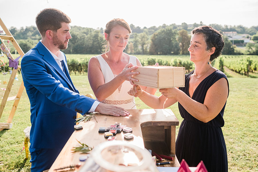 Relation de confiance entre wedding-planner et mariés
