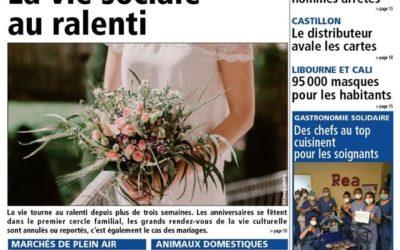 Article de presse – Les mariages en confinement