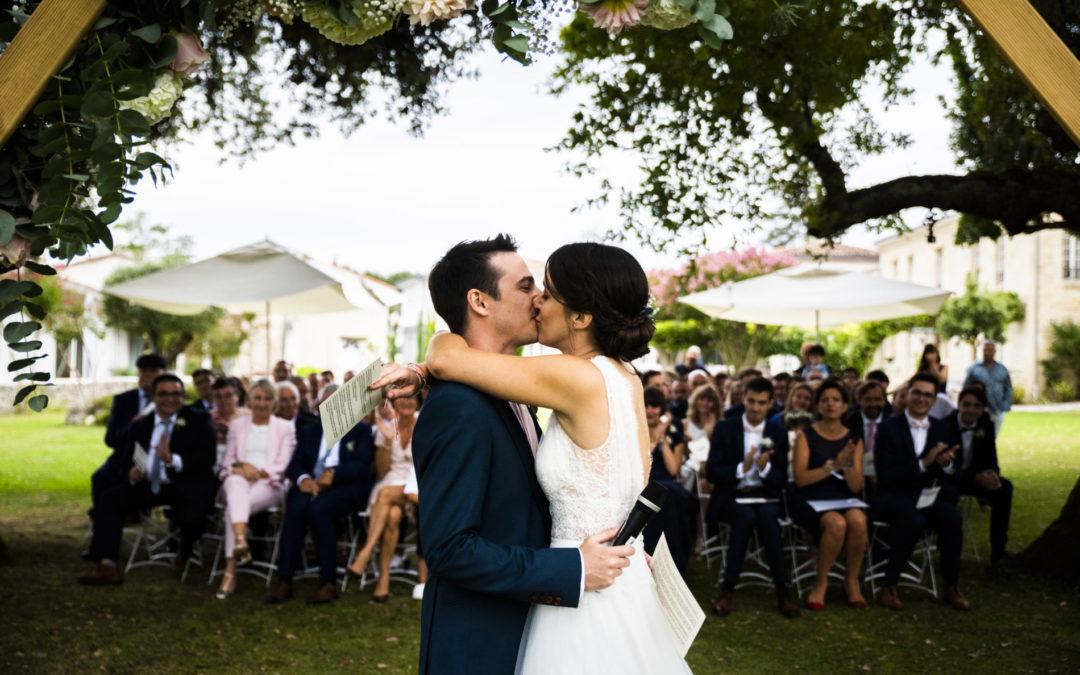 Retour sur la cérémonie de mariage d'Emilie & Adrian