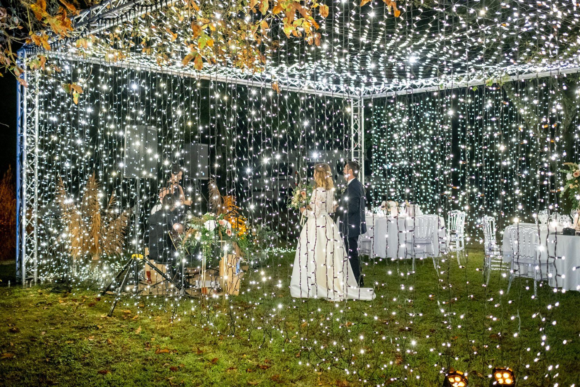 soirée mariage extérieur