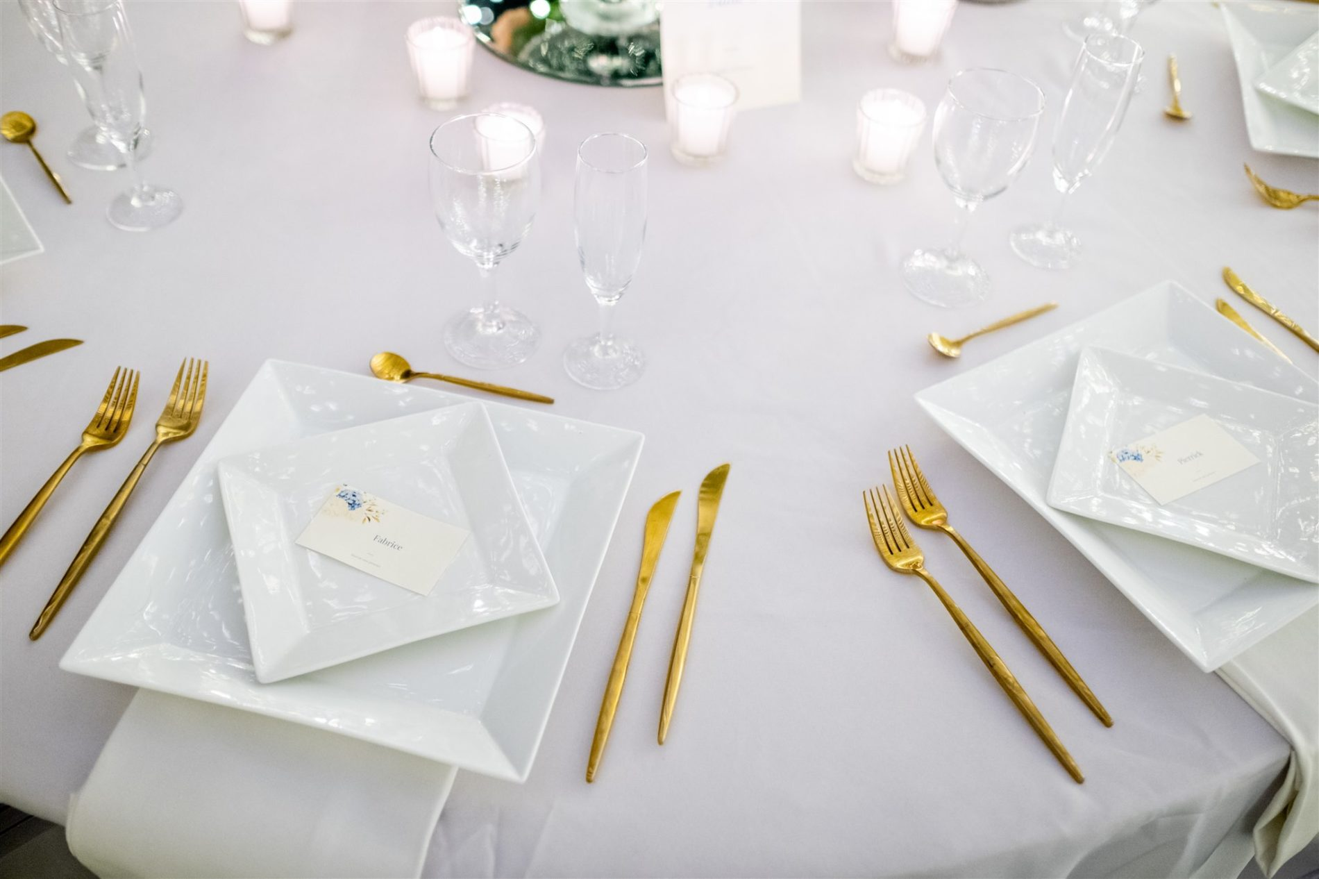 art de la table mariage