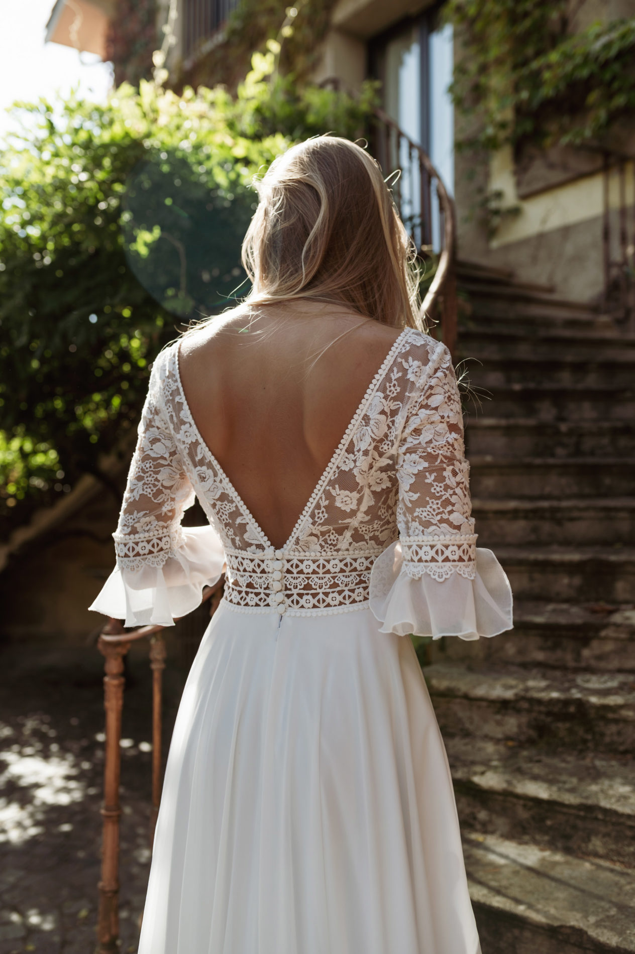 Dos robe de mariée NCV