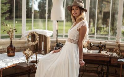 Rencontre avec une famille de créatrices de robes de mariées tout en délicatesse