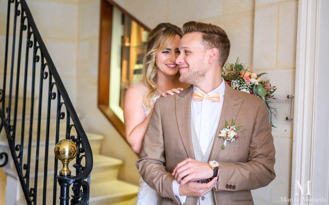 Mariés au domaine de larchey à bordeaux
