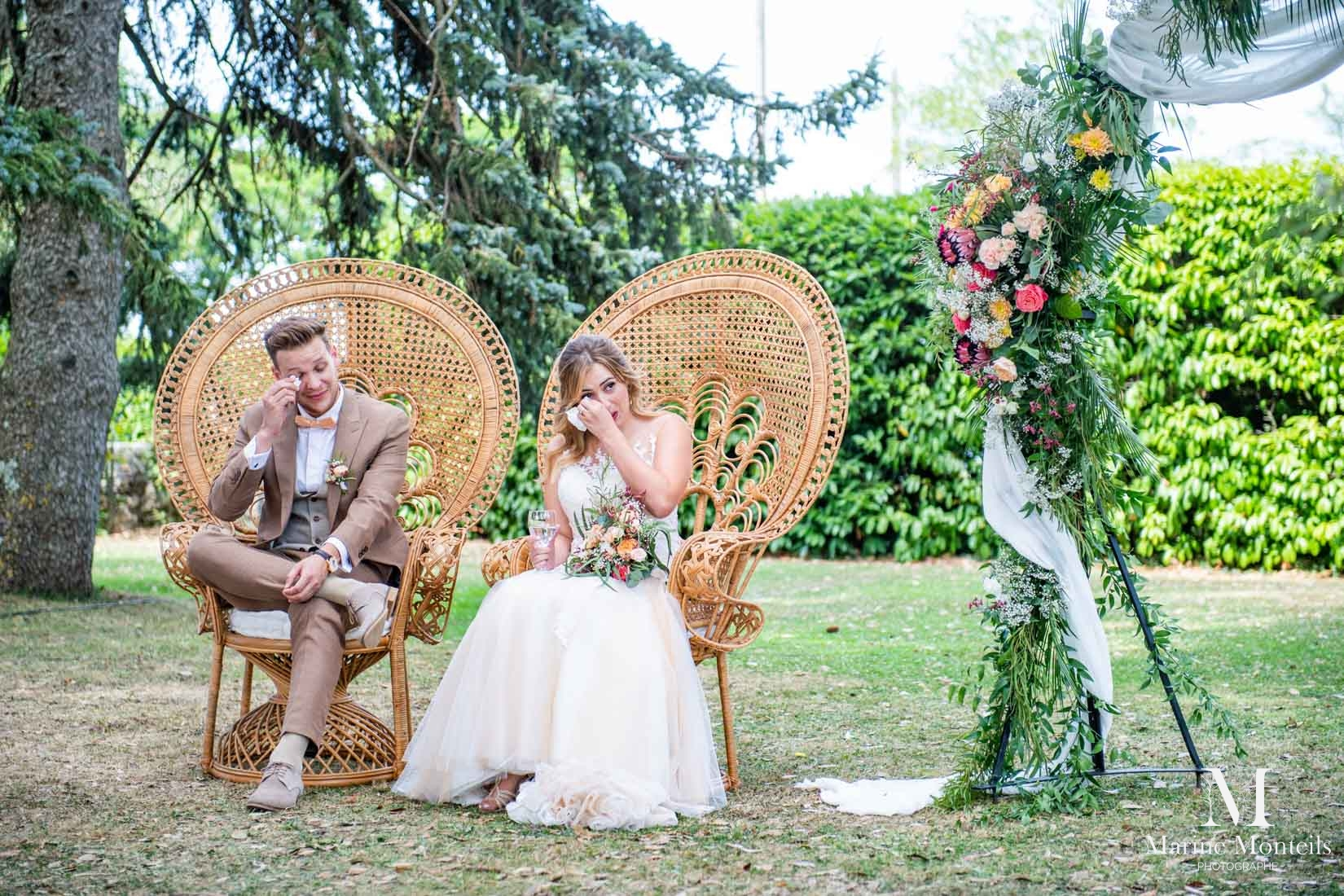 domaine de valmont mariage en exterieur