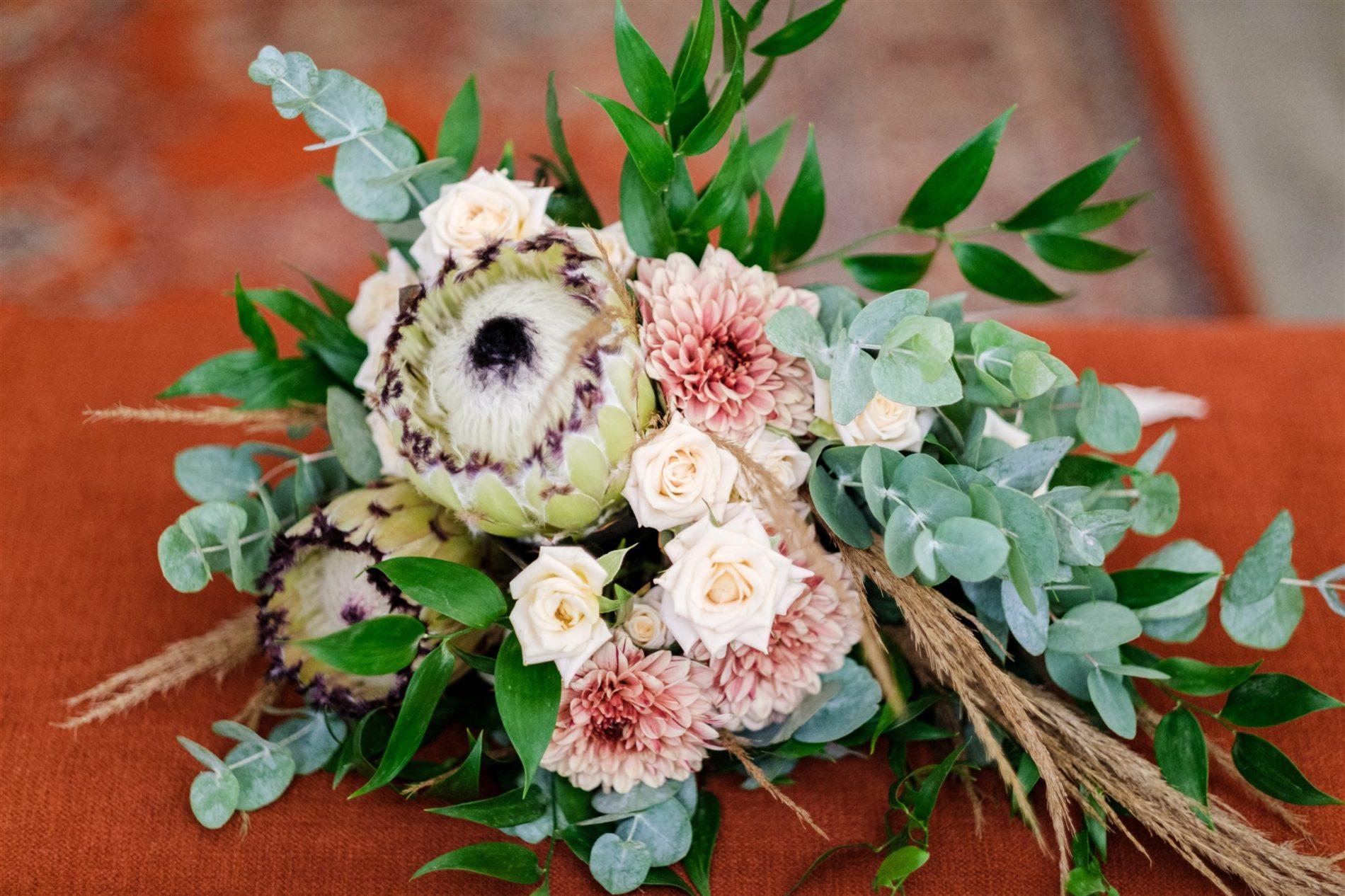 bouquet de mariée serre sauvage