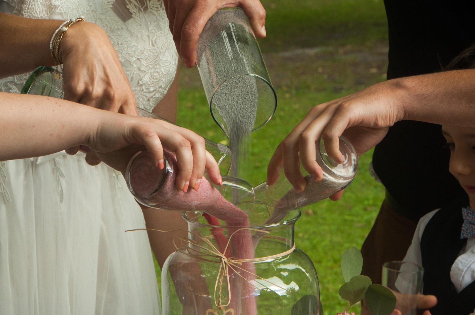 ceremonie rituel du sable