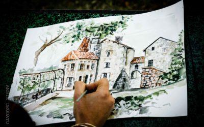 Inspiration mariage chic & élégant en Dordogne
